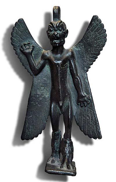 Assyrian demon Pazuzu, 1st millennium BC.