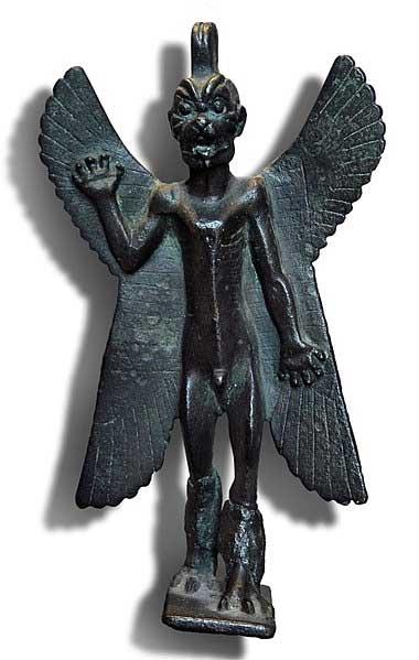 Assyrian demon Pazuzu, 1st millennium BC. (CC BY SA 3.0)
