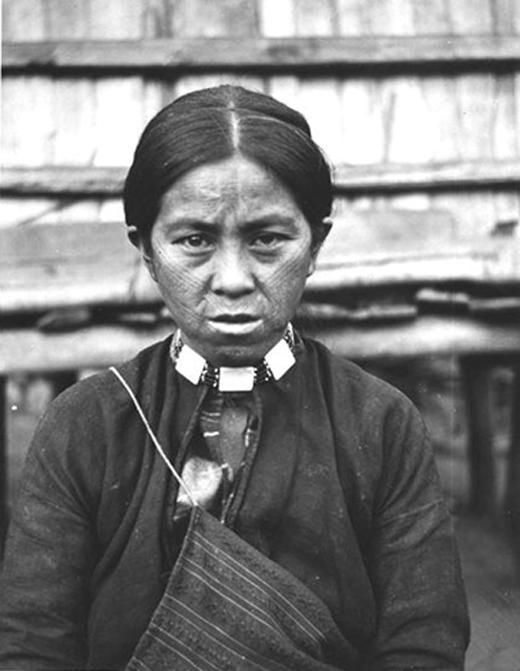 Atayal indigenous woman (Public Domain)
