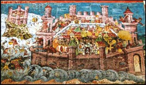 The Avar attack on Istanbul