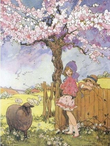 Baa Baa Black Sheep (1916) Dorothy Miller (Wikimedia Commons)