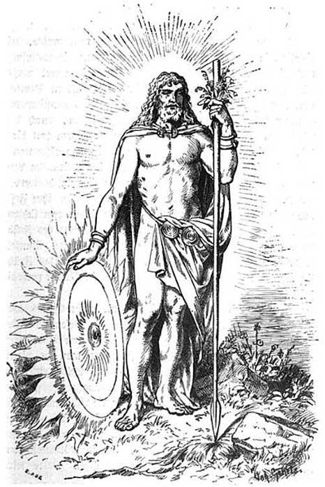 Baldur (1901) by Johannes Gehrts.