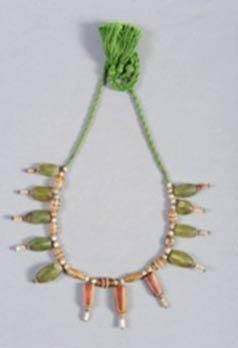 Beaded necklace of the Indus Valley, Mohenjodaro circa 2,600 – 1,900 BCE