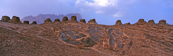 Beehive 'Tombs', Qubur Juhhal at Al Ayn, Oman