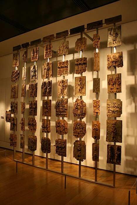 Benin Bronzes at the British Museum.