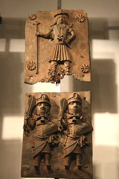 Benin kingdom (Nigeria) mid 16th to 17th century. British Museum