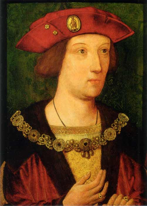 Betrothed at three, Catherine of Aragon was wed to Arthur when she was 15. (Public domain)