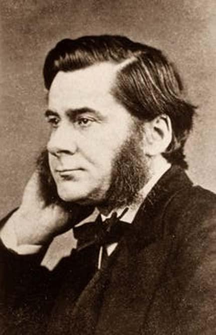 Biologist Thomas Henry Huxley (1825-1895).