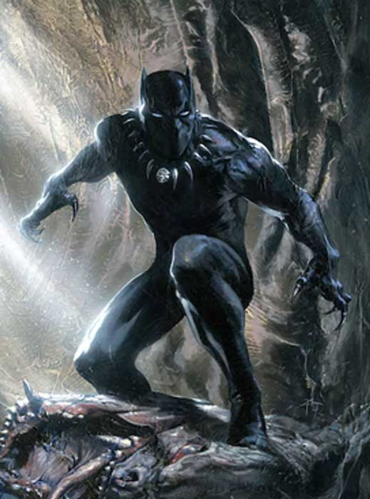 T'Challa is the Black Panther – a righteous king, noble Avenger, and fearsome warrior.
