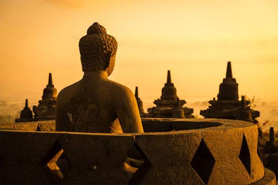 Buddhist Temple of Borobudur