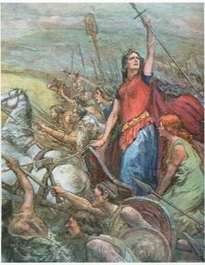 Boudicca led her people in one last battle