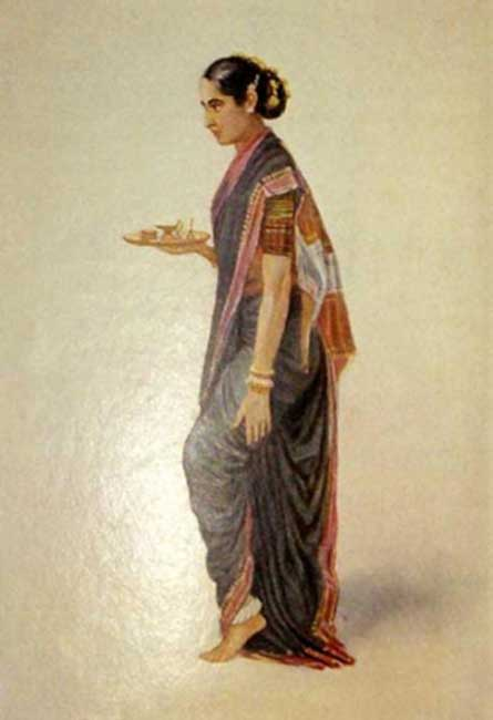 Brahmin priestess by Lady Lawley, (1914)(Public Domain)
