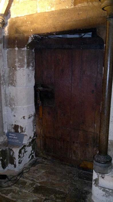 Britain's Oldest Door. From Edward the Confessors Abbey in the 1050s. (slocumjoseph/CC BY NC 2.0)