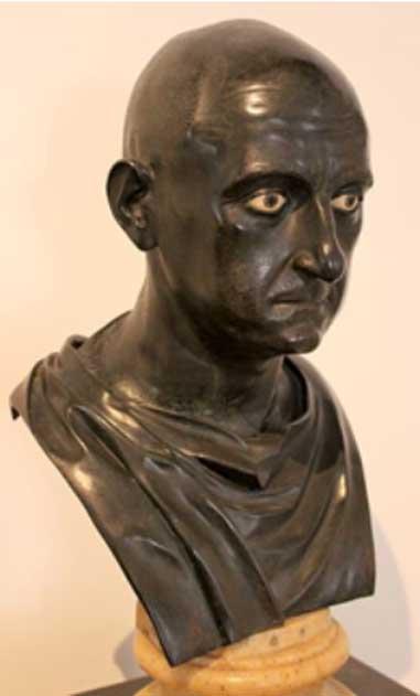 Bronze Bust of Scipio Africanus, Naples National Archaeological Museum.