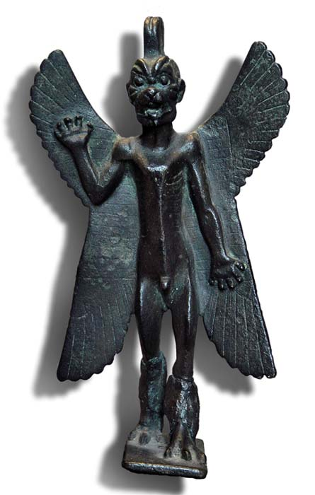 Bronze statuette of Pazuzu, circa 800 BC – 700 BC (CC BY-SA 3.0)