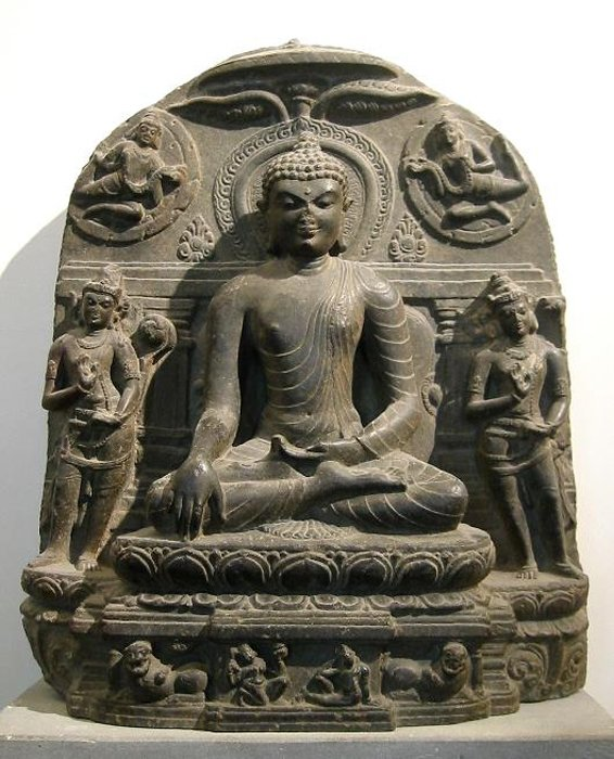 Buddha, Mahayana tradition, Pala Dynasty, 11th century. (Public Domain)