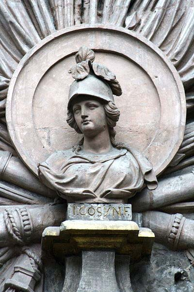 Bust of Bellona, Brussels, Belgium