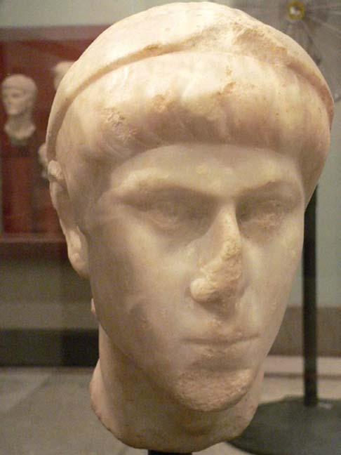 Bust of Constantius II