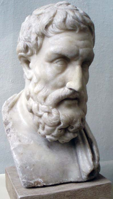Bust of Epicurus, from the Pergamon Museum, Berlin. (Keith Schengili-Roberts/CC BY SA 3.0)