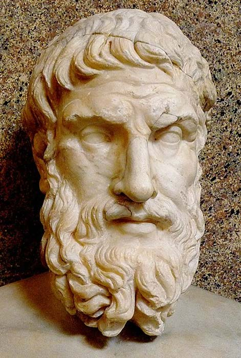 Bust of Epicurus, Vatican Museum, Rome. (Dudva/CC BY SA 4.0)