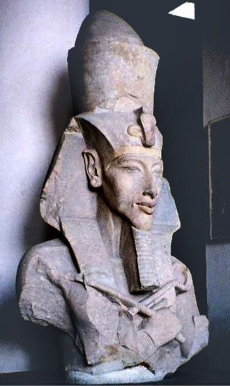 Bust of Pharaoh Akhenaton