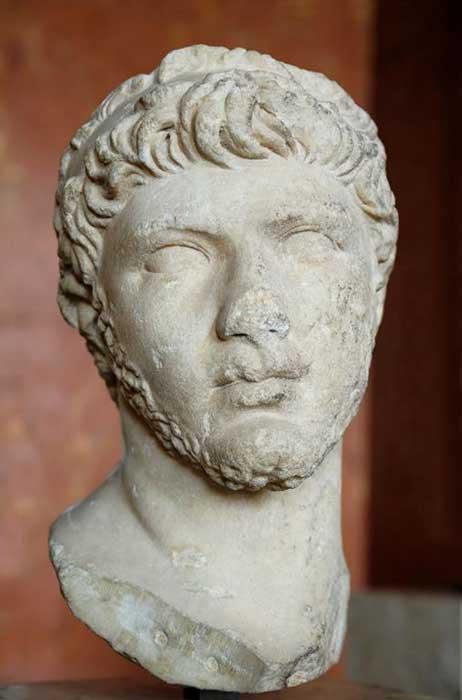 Bust of Ptolemy of Mauretania, c. 30–40.