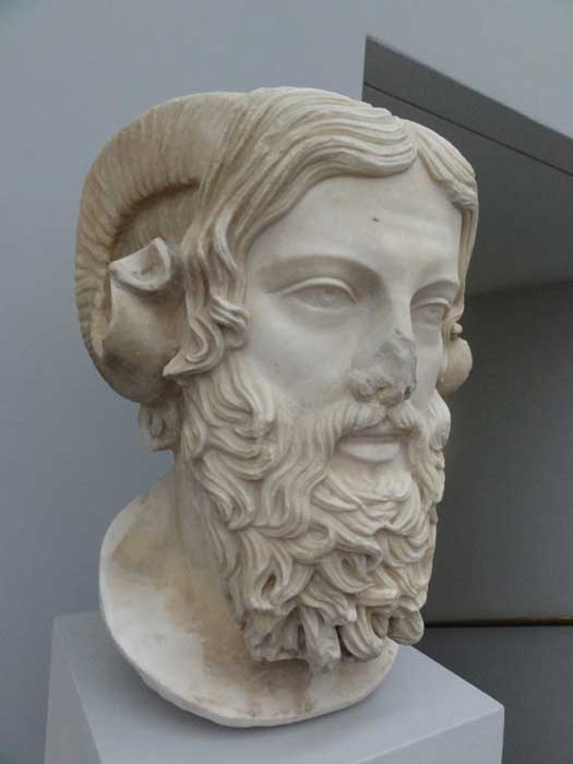 Bust of Zeus Ammon
