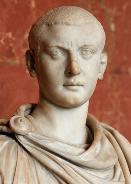 Bust of Gordian III, emperor of the Roman Empire. (Jastrow / Public Domain)