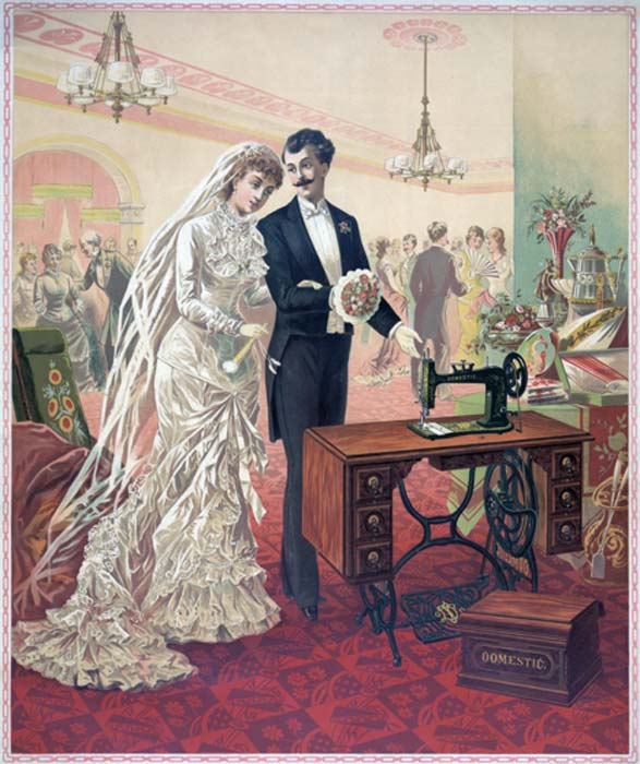 By the start of the 20th century, it was standard for couples to offer each other gifts. (Public Domain)