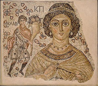 Byzantine Floor Mosaic