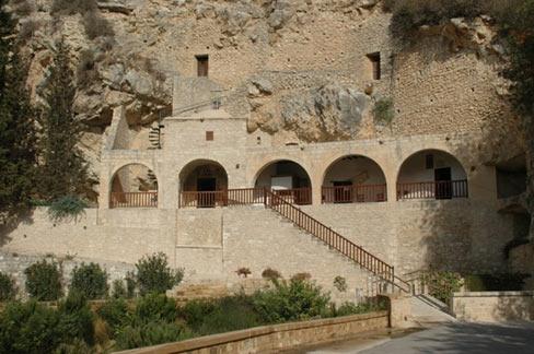 Byzantine monastery of Enkleistra of St Neophytos in Cyprus