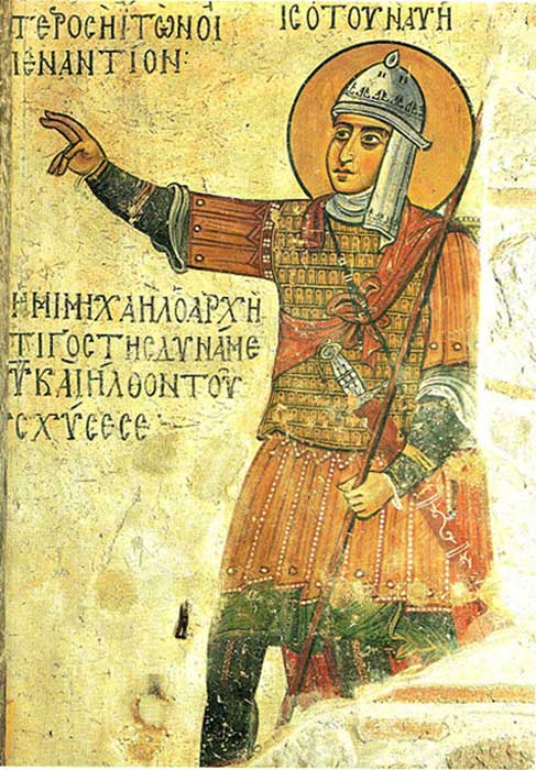 Byzantine solider – under the new Byzantine system of defense they established militia that was organized on local levels. (Shakko / Public Domain)