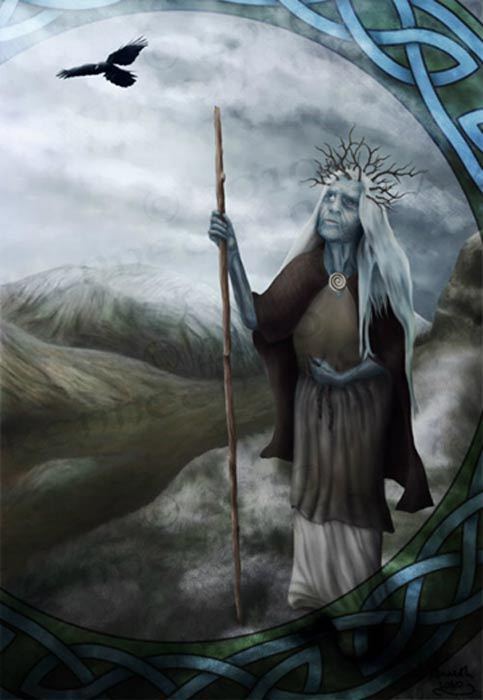 Cailleach, The Goddess of Winter.