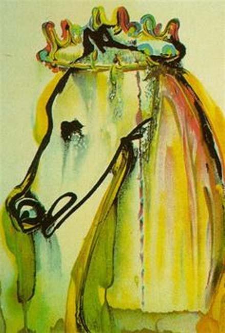 Caligula's Horse (Dali's Horses), Salvador Dali, 1971.