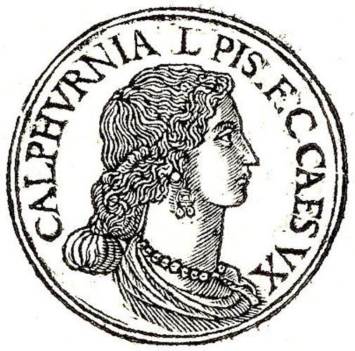 Calpurnia – Caesar's last wife.