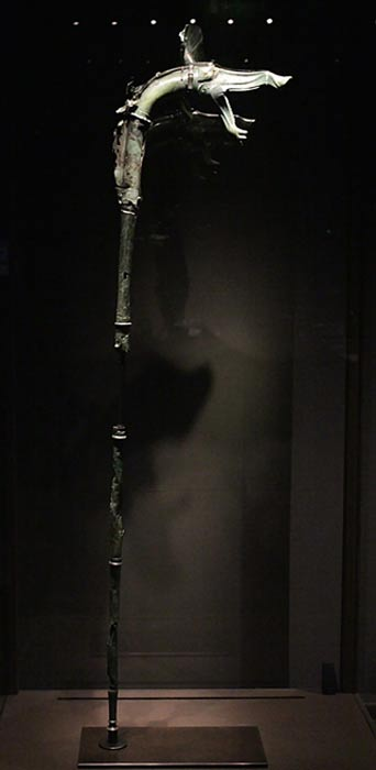 Carnyx of Tintignac, discovered in Corrèze, France.