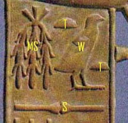 Cartouches on the chair. (Author provided)