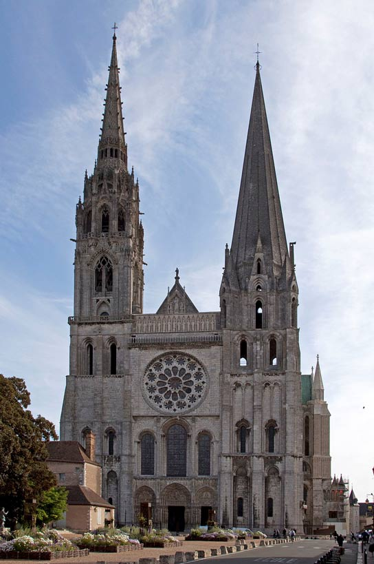 Cathedral of Chartres.