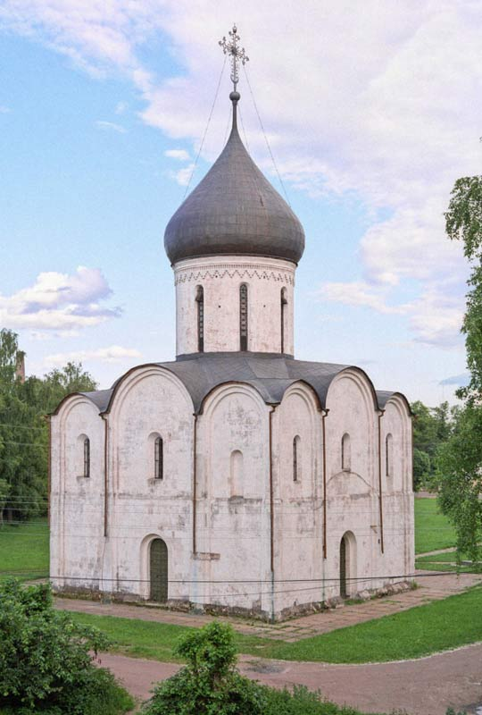 Cathedral of the Transfiguration of the Savior in Pereslavl-Zalessky, Russia, where the ancient inscription referring to a well-known murder were found