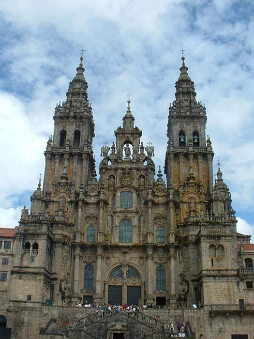 Cathedral, Santiago de Compostela, Spain.