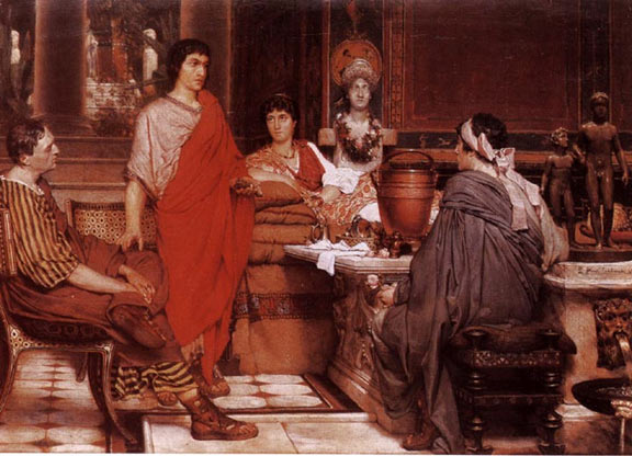 Cattulus at Lesbia's