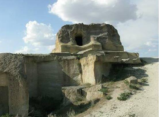 Cavusin village in the Cappadocia region of Turkey.
