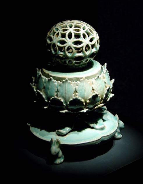 Celadon Incense Burner (12th century Korea)