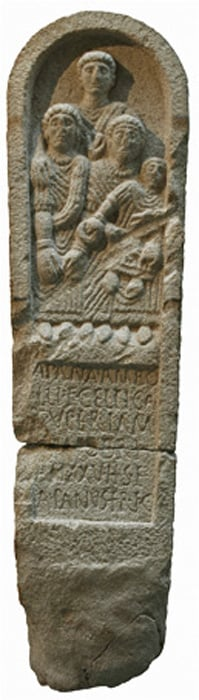 Celtic stele from Galicia.