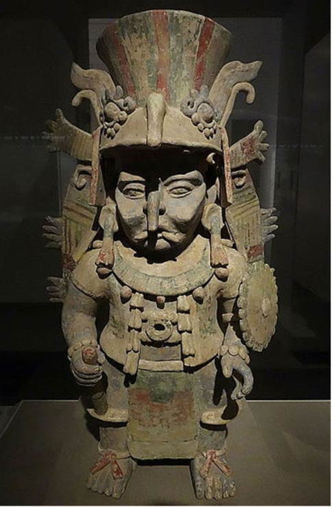 Chaak, the Maya Rain God