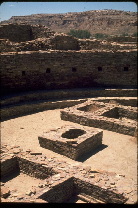 Chaco Canyon structures were built with wood mainly from two valleys, both about 46 miles from the city center that served as a hub for trade, politics and religion.