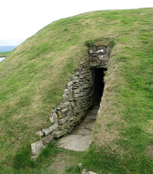Entrance to Chambered Cairn, Orkney