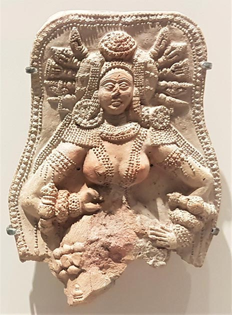 Chandraketugarh artifact West Bengal, India. (Provided by the author)
