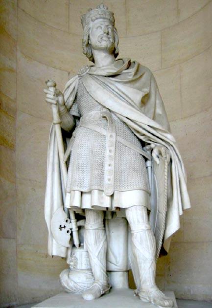 Charles Martel, founder of the Carolingian dynasty. (Arnaud 25 / Public Domain)