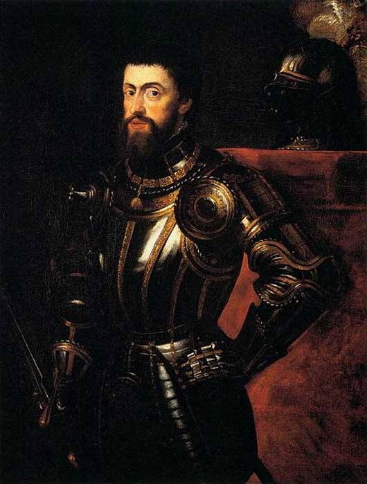 Charles V in Armour by Peter Paul Rubens circa 1600